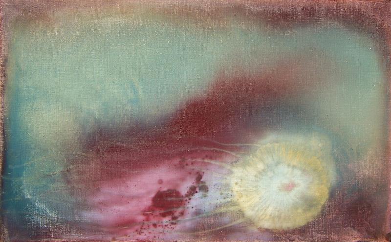 olio su tela preparata 80×50 [2005]
