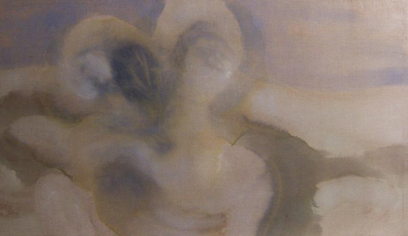 olio su tela preparata 120×100