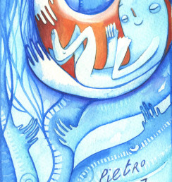2008 partecipazione battesimo Pietro